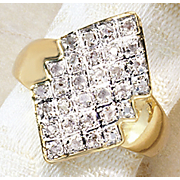 Anillo de diamantes Empress