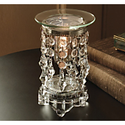 Clear Beaded Oil Burner