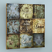Inspirational Plaque Art
