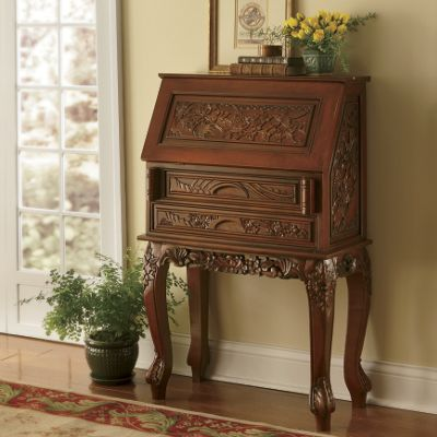 Carved Secretary A
