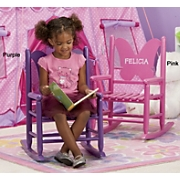 Personalized Butterfly Rocker