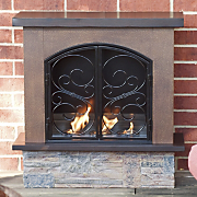Fireplace, Aspen Portable Indoor/Outdoor Gel Fuel