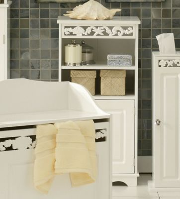 Coral Bathroom Low Cabinet