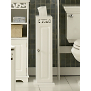 Coral Bathroom Tissue Holder