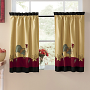 Curtains Rooster