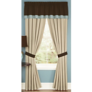 Embroidered Silhouette Window Treatments