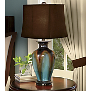 Glazed Ceramic Table Lamp