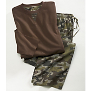 2 Piece Camo Lounge Set