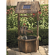 Solar Wishing Well Fountain