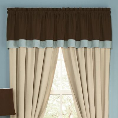 Embroidered Silhouette Valance