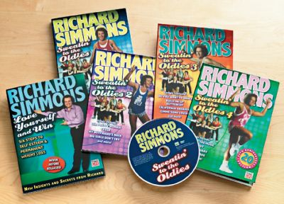 20Th Anniversary Edition Richard Simmons DVD Set
