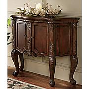 Antique Door Armoire Teak Wood Hand Carved Rustic Cabinet