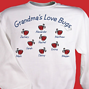 Love Bugs Sweatshirt