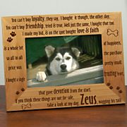 Dog Loyalty Frame
