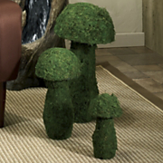 Topiaries Mushroom 3 Piece Set
