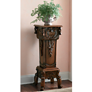 Hand Carved Pedestal A