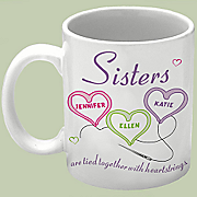 Sisters Heartstrings Mug