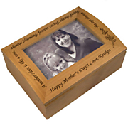 A Mothers Love Photo Keepsake Box