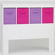 Headboard Pink and Purple
