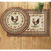 Top Of The Morning Rooster Rug
