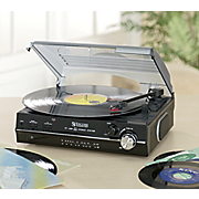 Digital Turntable With Am Fm Stereo