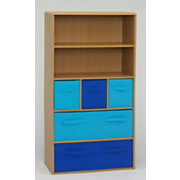 Bookcase Blue