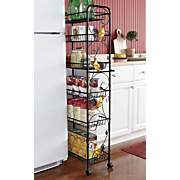 Slim Storage Cart Rooster