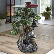 Fountain Table Topiary