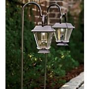 2 Piece Solar Lanterns With Hooks
