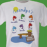 Grandpas Fishing Buddies T Shirt