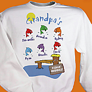 Grandpas Fishing Buddies Sweatshirt