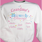 Grandmas Heavenly Blessing Sweatshirt