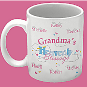 Grandmas Heavenly Blessings Coffee Mug
