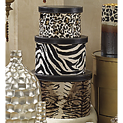 Animal Print Boxs 3 Piece Set