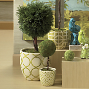 Planter, Lattice 3-Piece Set