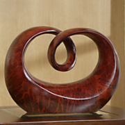 Sculpture Small Abstract Flow