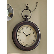 Wall Clock Pocket Watch