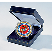 Marines Jfk Colorized Coin