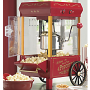 Old Fashioned Movie Time Popcorn Machine A