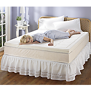 Quilted Memory Foam Grand Topper From Innergy  By Therapedic