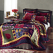 Velvet Dreams Quilt and Sham