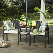 Wrought Iron Chair Table Set