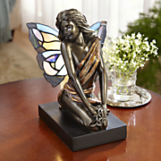 Light Ariel Stained Glass Accent