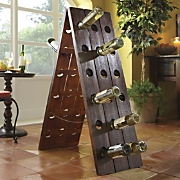Wine Rack Remuage Wood