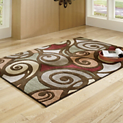Rug Pirouette Carved