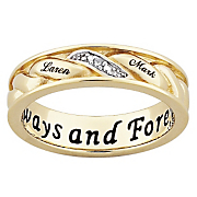 Ring Womens Couples Name