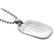 Pendant Personalized Dog Tag