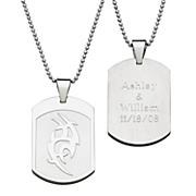 Pendant Tribal Personalized Dog Tag