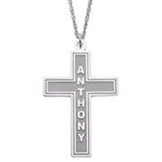 Cross Pendant Name Z