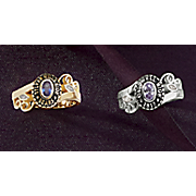 Class Ring Ladies Oval Birthstone
